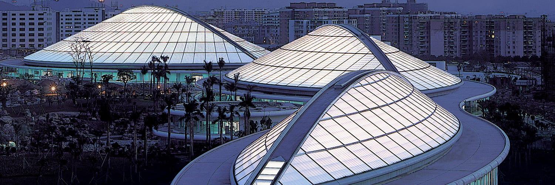 cpi-daylighting Guangzhou Stadium_Night Shot
